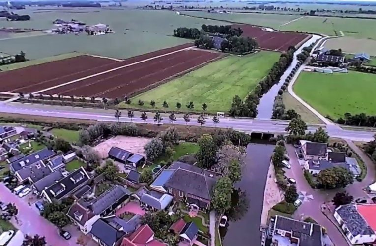 Dronevlucht over Niezijl – 2019