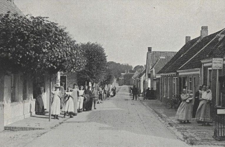 Hoofdstraat Niezijl – ca. 1908