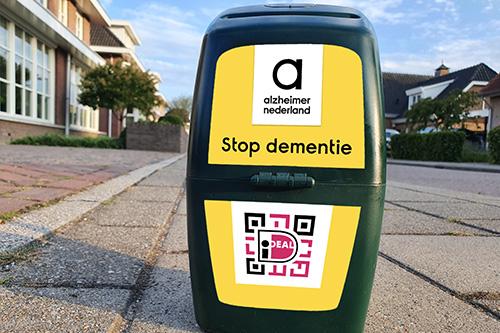 Collectanten gezocht voor de Alzheimerstichting