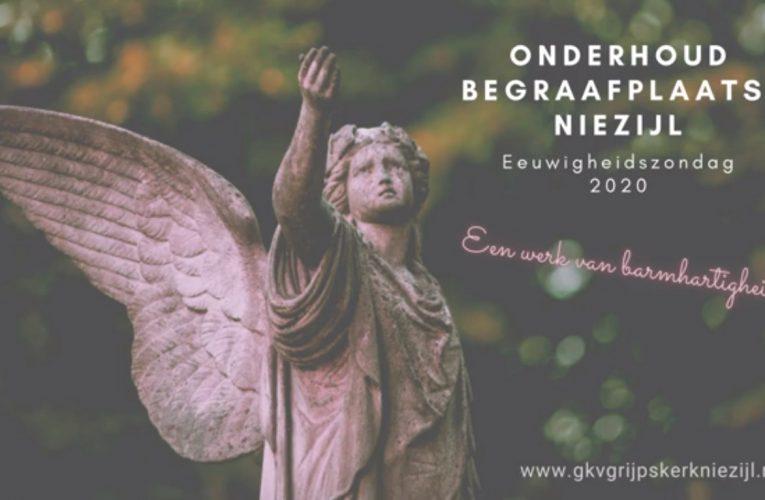 Een werk van barmhartigheid: Onderhoud begraafplaats Niezijl