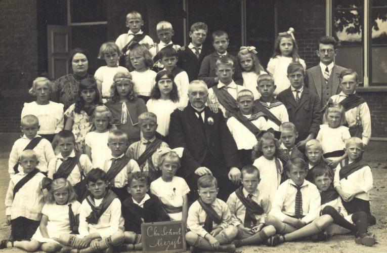 Christelijke School Niezijl – ca. 1929